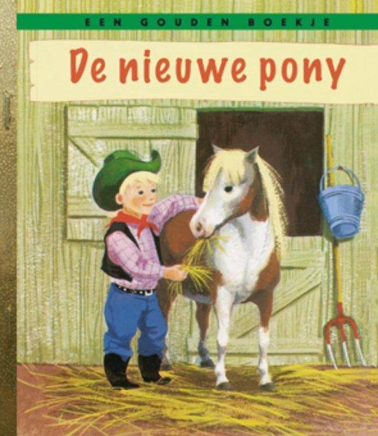 Boek cover Gouden Boekjes  -   De nieuwe pony van B. Chenery Perrin (Hardcover)