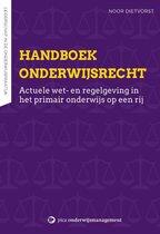 Boek cover Handboek onderwijsrecht van Noor Dietvorst