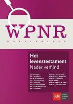 WPNR Boekenreeks  -   Het levenstestament
