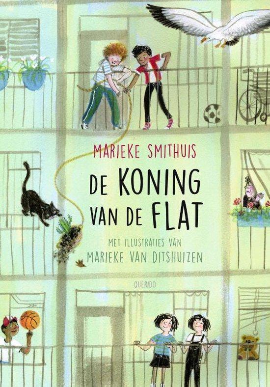 Boek cover De koning van de flat van Marieke Smithuis (Hardcover)