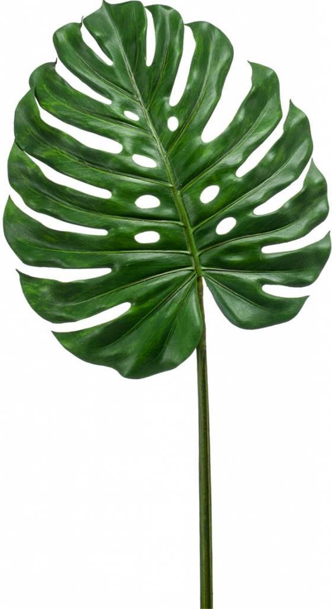 Kunstblad Monstera (Gatenplant) XL 110 cm