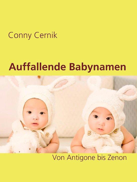 Boek cover Auffallende Babynamen van Conny Cernik (Onbekend)