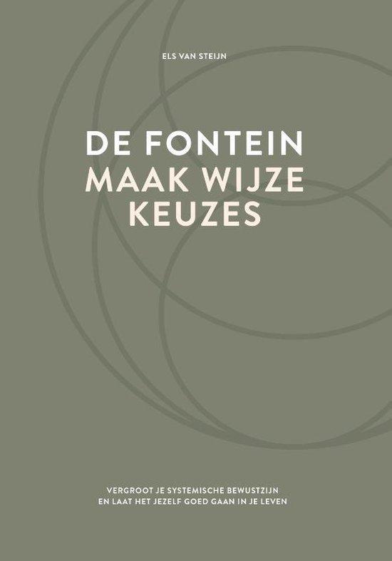 Boek cover De fontein, maak wijze keuzes van Els van Steijn (Hardcover)