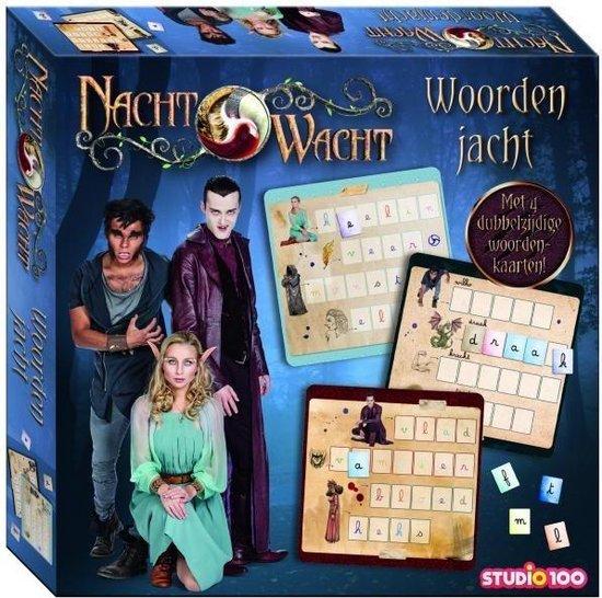 Afbeelding van het spel Studio 100 Nachtwacht Educatief Spel - Woordenjacht