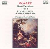 Mozart: Piano Variations Vol.1