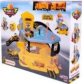 Afbeelding van Dede - Bouwplaats speelgoed - Bouwpakketten - bouw speelgoed jongens - Constructie speelgoed - Vanaf 3+ jaar - 2 Autos speelgoed