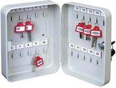 Rottner Sleutelkast TS20- Voor 20 Sleutels - Wit - 20,5x16,5x8,5cm