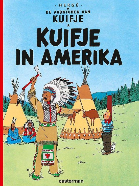 Kuifje 03. kuifje in amerika - Hergé |