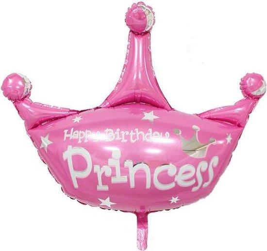 Folie helium ballon Happy Birthday Princess 38cm