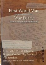 51 DIVISION 154 Infantry Brigade Gordon Highlanders 4th Battalion