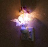 Mushroom Nacht Lamp -Bureaulamp -Kleurrijke Nachtverlichting - Extra Bladeren