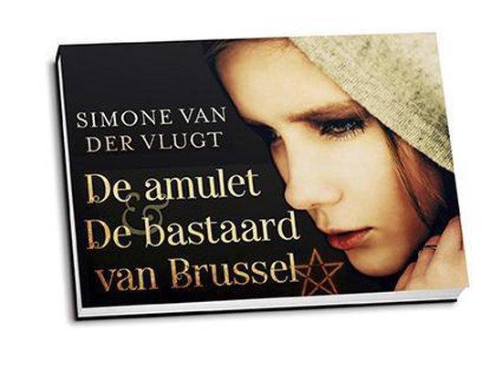 De amulet en De bastaard van Brussel - dwarsligger (compact formaat) - Simone van der Vlugt |