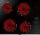 Brandt BPV6410B kookplaat Zwart Ingebouwd Keramisch