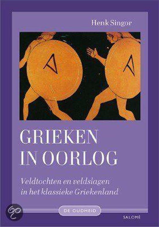 Cover van het boek 'Grieken in oorlog'