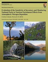 Evaluation of the Sensitivity of Inventory and Monitoring National Parks to Nutrient Enrichment Effects from Atmospheric Nitrogen Deposition