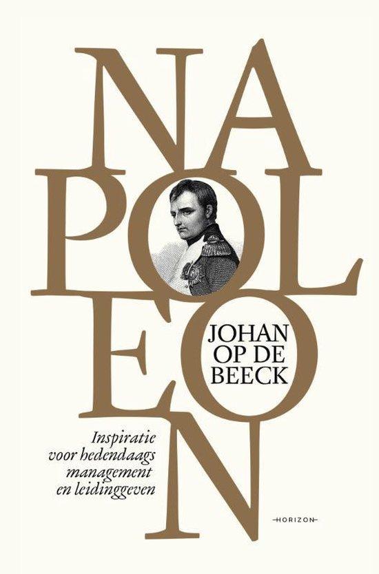 Boek cover Napoleon van Johan op de Beeck (Hardcover)