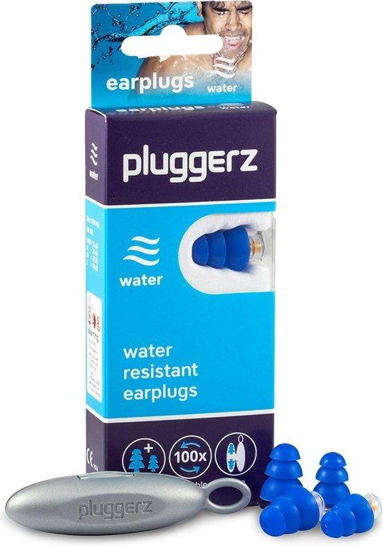 Pluggerz earplugs Water - Zwemoordoppen voor volwassene/kind - Met filter