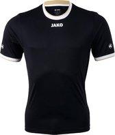 JAKO United - Voetbalshirt - Heren - Maat M - Zwart/Wit/Goud
