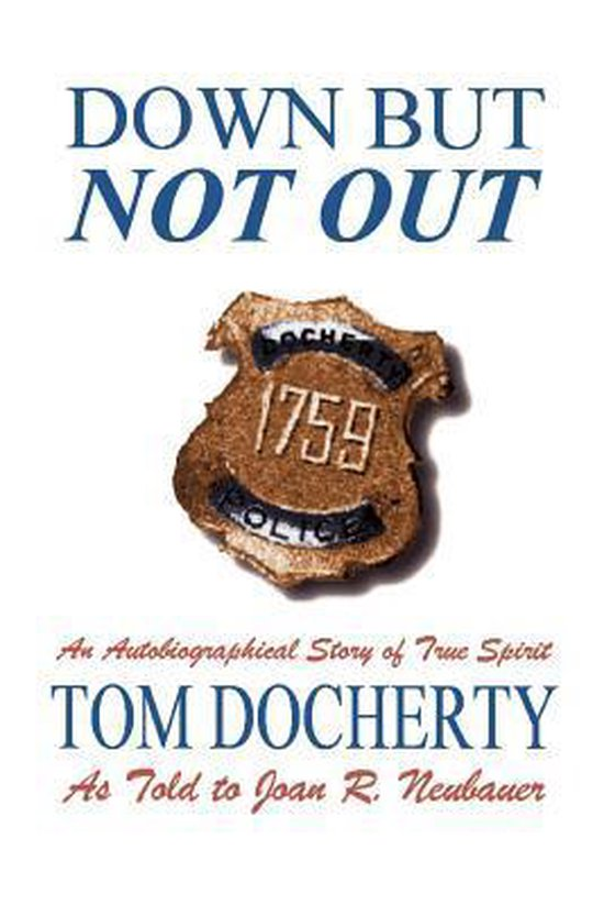Boek cover Down But Not Out van Tom Docherty (Paperback)