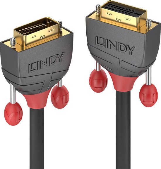 Lindy DVI-D Dual Link verleng Anthra Line 5m