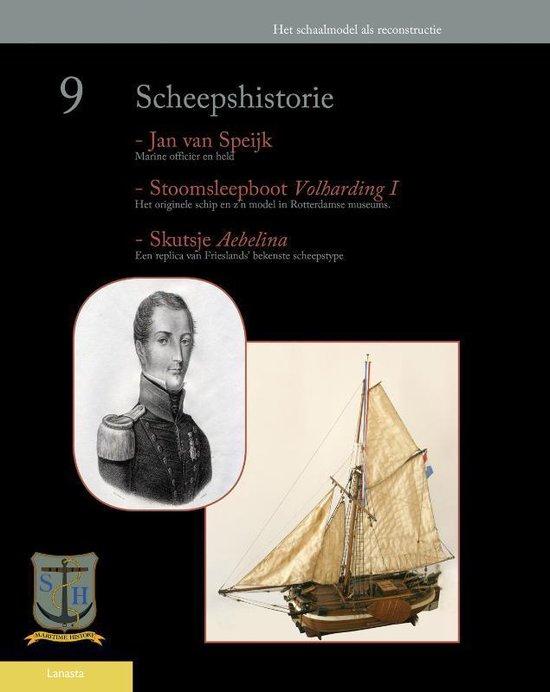 Boek cover Scheepshistorie / 9 van Onbekend (Paperback)