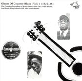 Giants Of Country Blues Vol. 1: 1927-1938