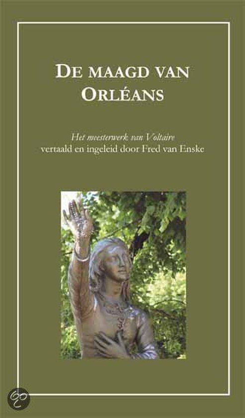 Cover van het boek 'De maagd van Orléans' van F. van Enske