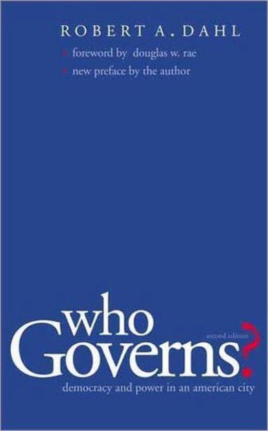 Afbeelding van Who Governs?