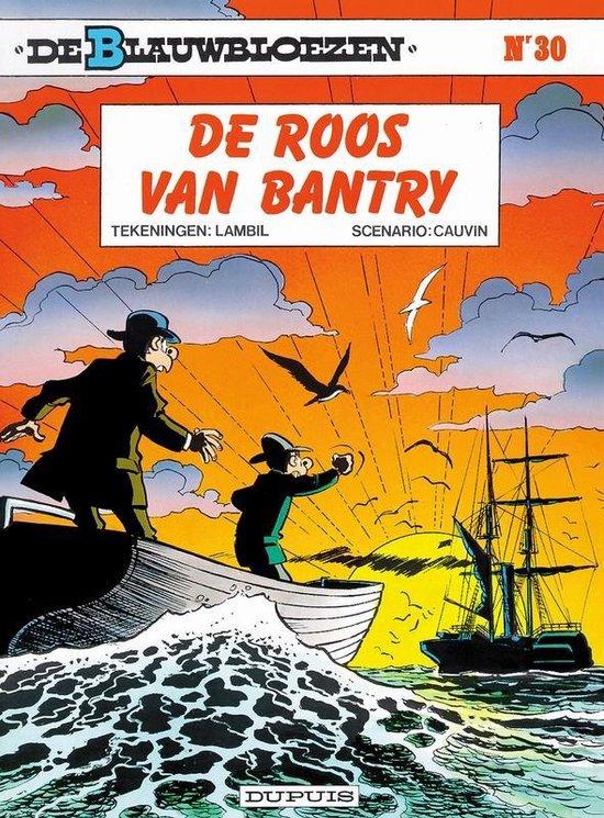 Cover van het boek 'Blauwbloezen / 30 De roos van Bantry'