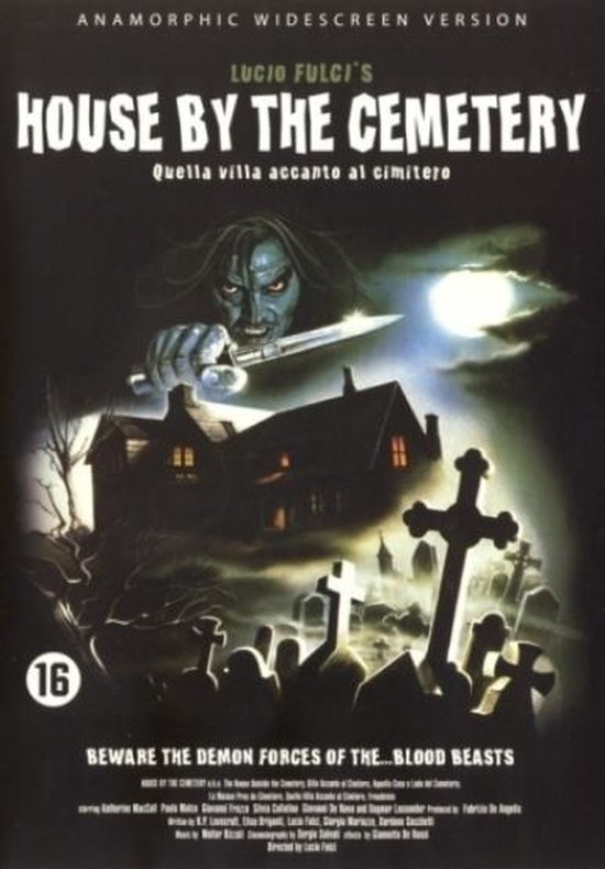 Cover van de film 'House By The Cemetery'