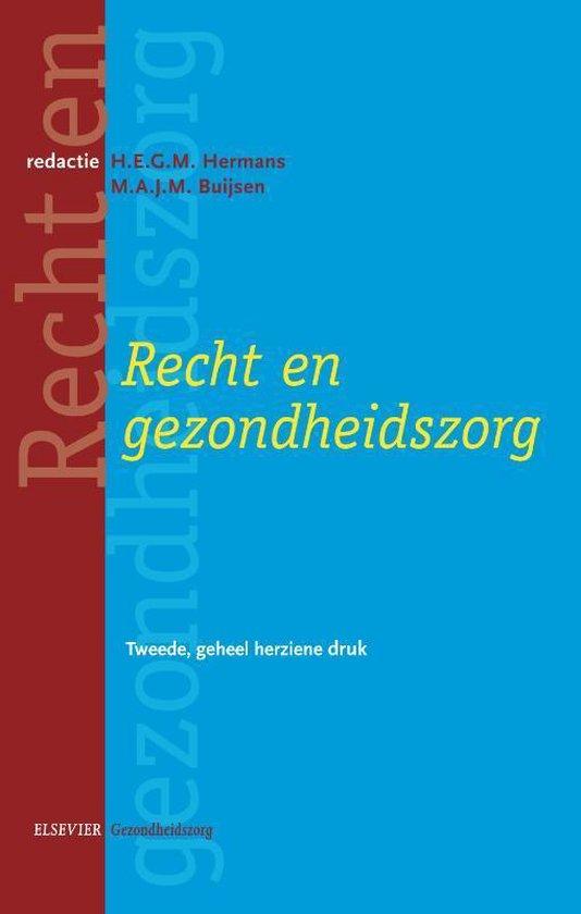 Recht en gezondheidszorg - H.E.G.M. Hermans | Fthsonline.com