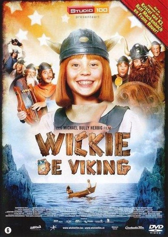 Cover van de film 'Wickie De Viking'