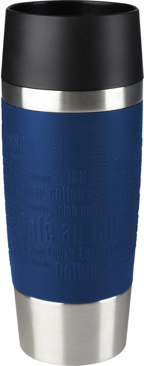 Tefal Travel Mug Thermobeker  - 360 ml - RVS/Donkerblauw