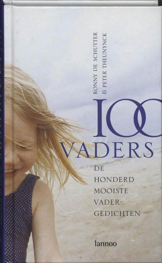 Cover van het boek '100 vaders' van de Schuyter