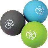 Fitness-mad Massageballen Trigger Point 6 Cm Pvc 3 Stuks
