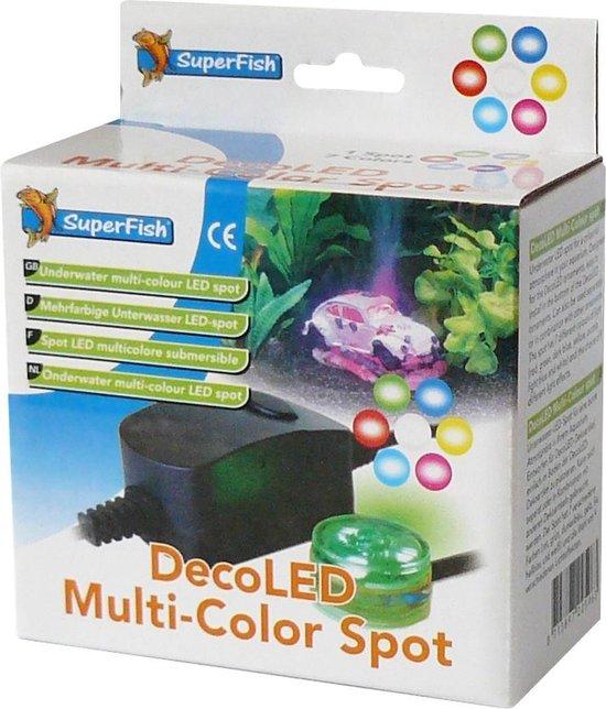 SuperFish DecoLED MultiColor Spot - Aquarium - Verlichting - Waterdicht - SuperFish