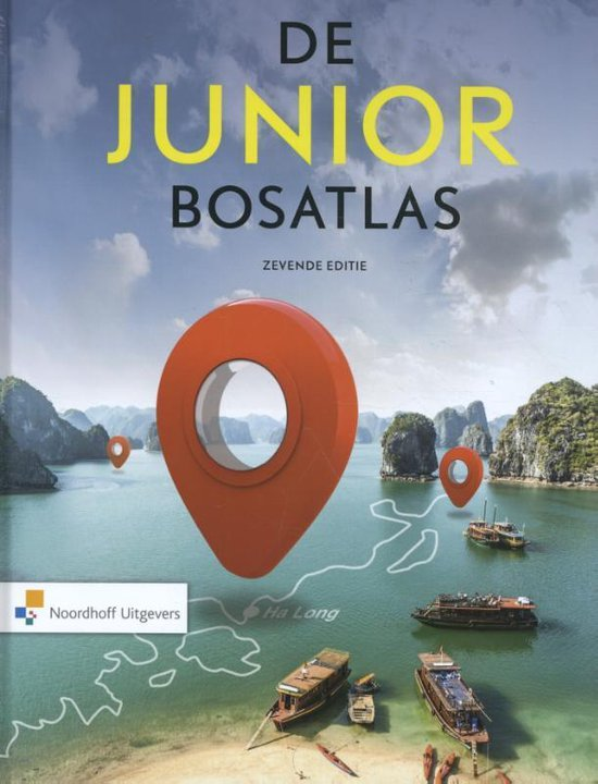 Boek cover De Junior Bosatlas van Diverse auteurs (Hardcover)