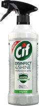 Cif Disinfect & Shine Original Desinfectie Spray - 6 x 500 ml - Voordeelverpakking