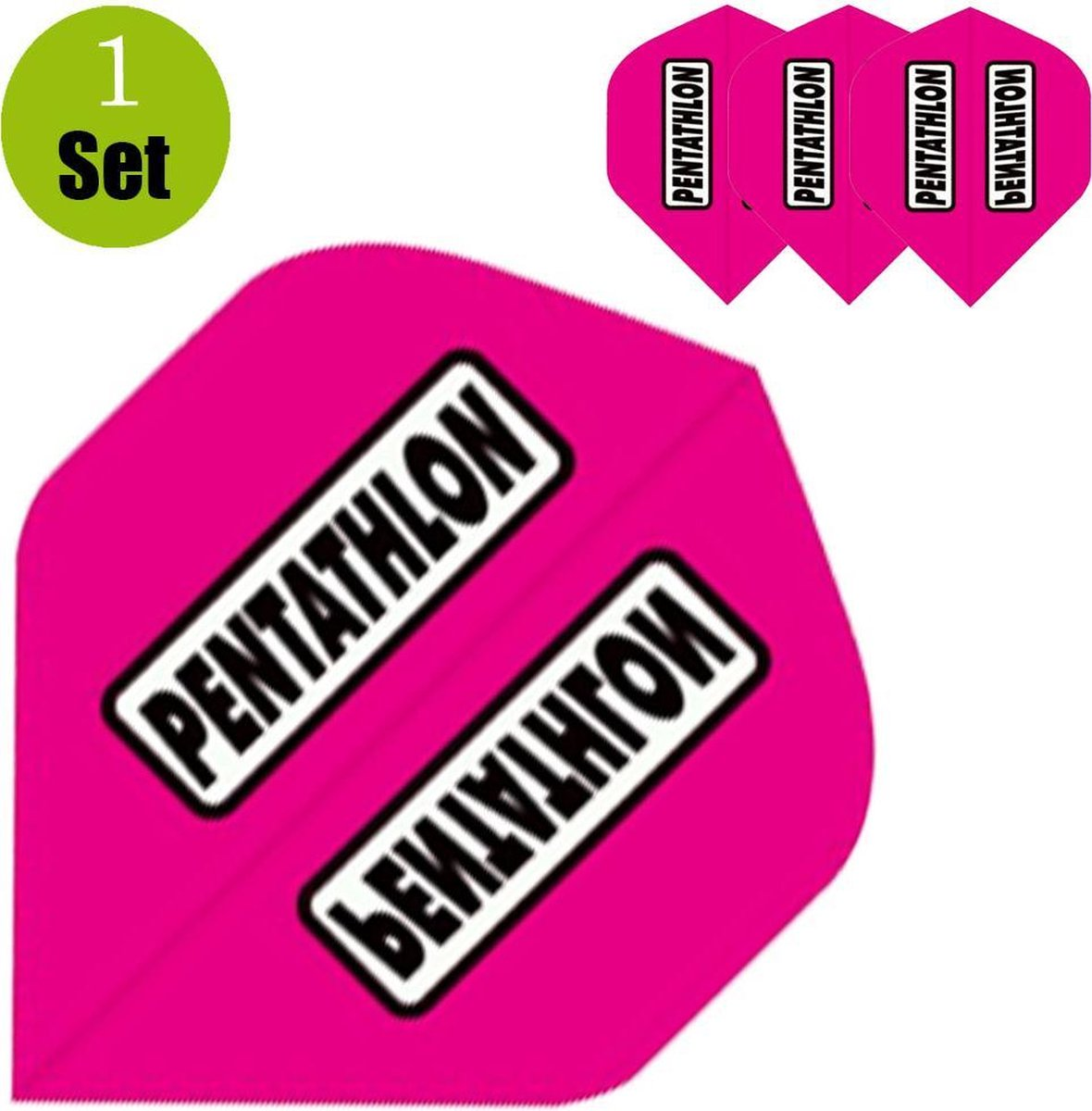Pentathlon Dartflights - Roze- ()