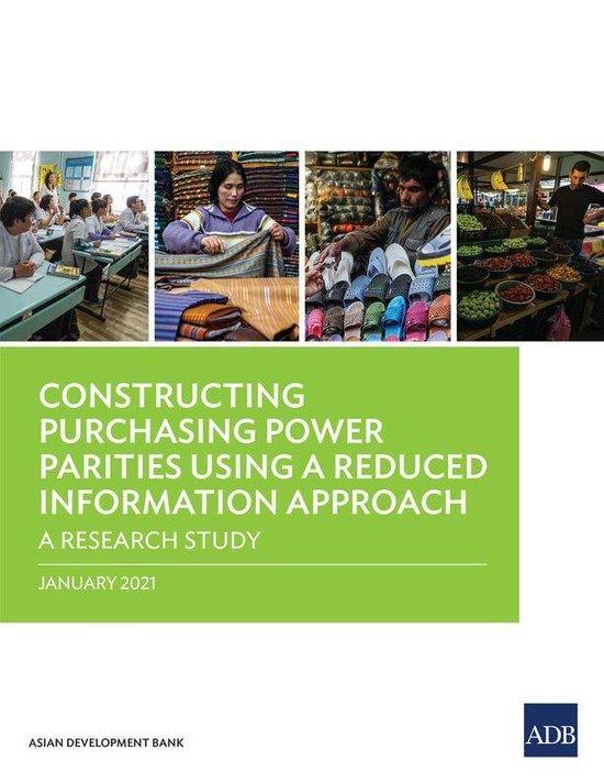 Boek cover Constructing Purchasing Power Parities Using a Reduced Information Approach van Asian Development Bank (Onbekend)
