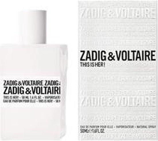 Zadig & Voltaire This Is Her 100 ml - Eau de Parfum - Damesparfum