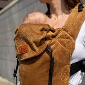 ByKay - Draagzak - Click Carrier Classic - Ribbed Velvet Mustard Brown