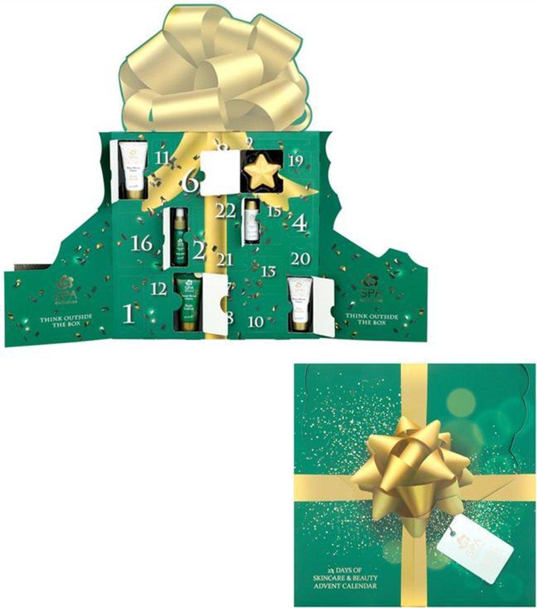 Spa Exclusives adventskalender 2021 - geschenkset vrouwen