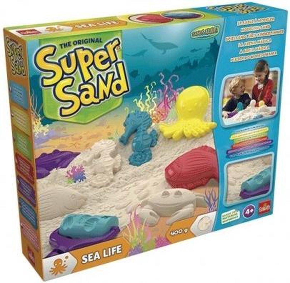 Super Sand Sealife speelzand 7-delig
