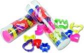 Weible Knet Klei Uitsteekvormen In Transparante Koker