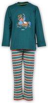 Woody - Unisex Pyjama - Turquoise - Papegaai - 181-3-PLS-S/735 - Maat 56