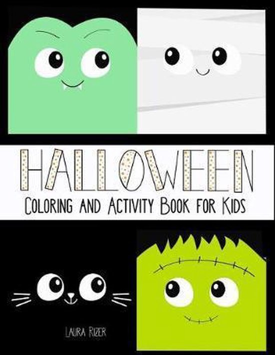 Halloween Coloring & Activity Book for Kids