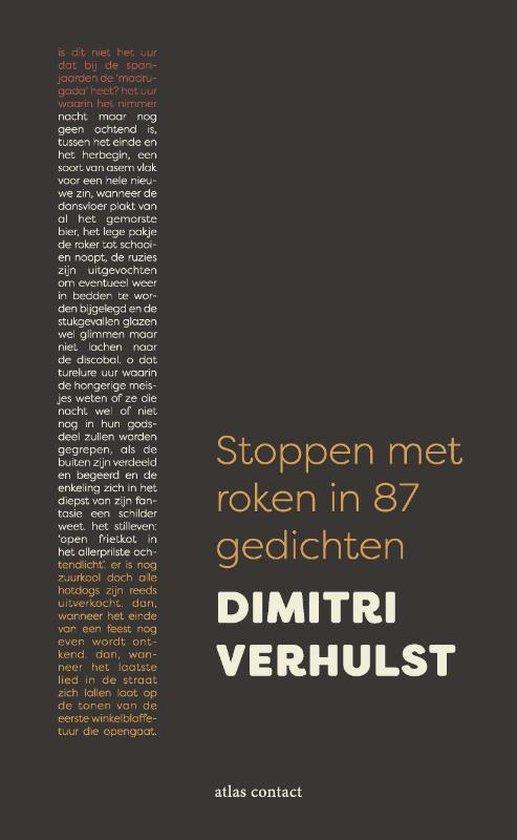 Stoppen met roken in 87 gedichten - Dimitri Verhulst |