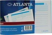 Atlanta bonboek A6 2 x 100 vel carbon