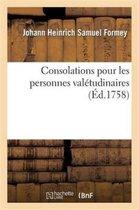Consolations Pour Les Personnes Val tudinaires